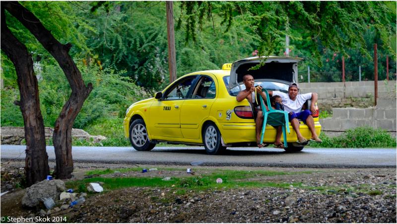 Duili, Timor Leste, taxi, street, beach