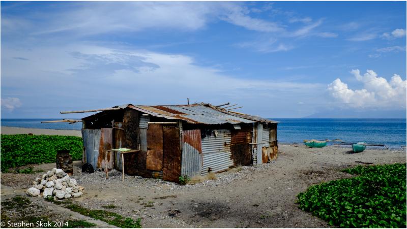 Dili Timor Leste beach canoe