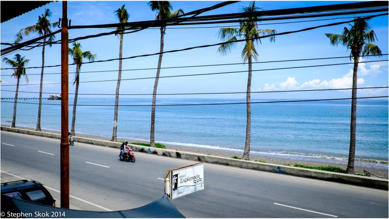 Dili Timor Leste beach Hotel Esplanada