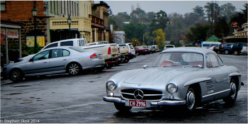 1956 Mercedes-Benz gullwing 300SL Clunes Victoria