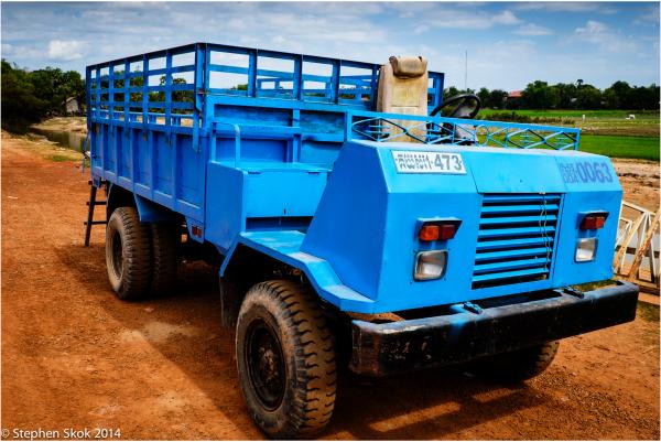 Cambodia Seam Reap Truck Fuji X-E2