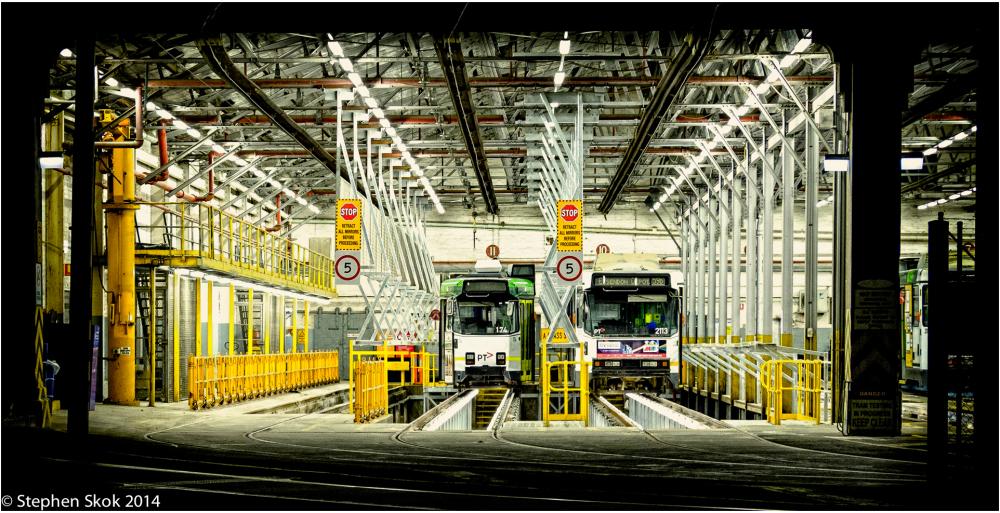 tram depot Fuji X-E2