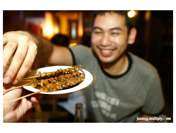 caste eating isaw
