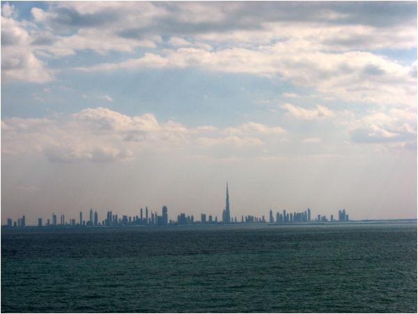DUBAI FROM THE SEA