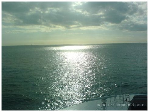 sun on the channel