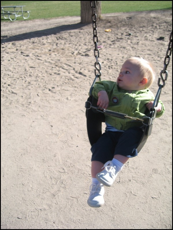 Nervous on the Swing