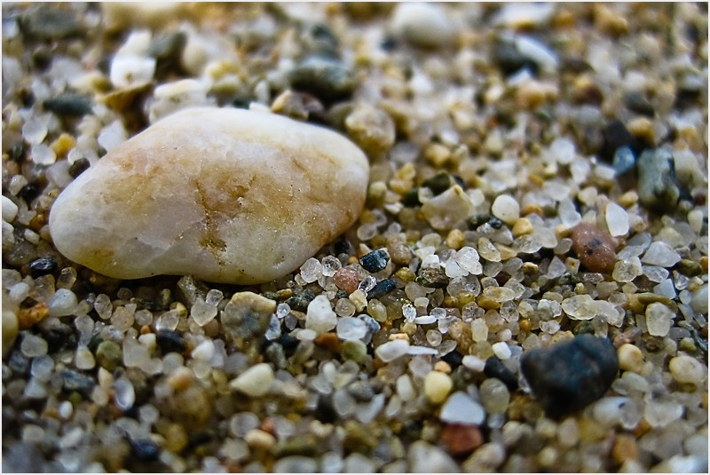 Sea sand macro