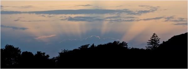 Silhouette Sunset, Japanese style