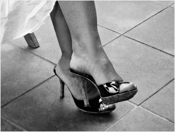 My friend's feet closeup