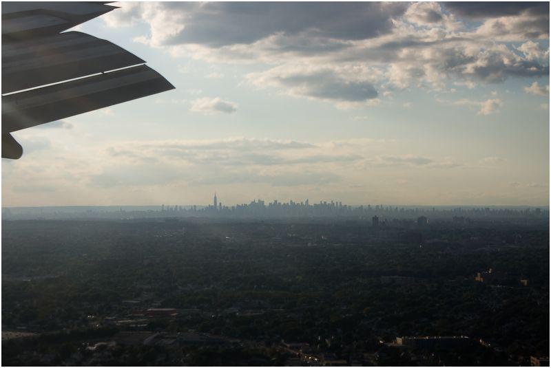 Landing at JFK
