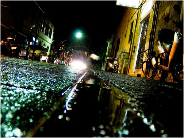 Pisa wet nights