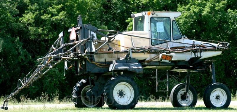 homemade farm vehicle