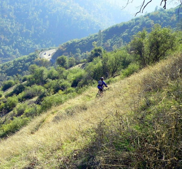 Auburn, Gold Country, bicycle, hills