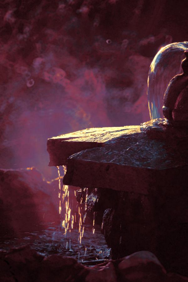 Purple Haze Fountain