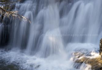Big SKy Montana waterfall