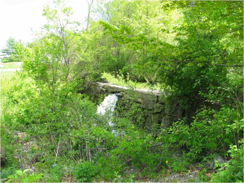 Small dam in Connecticut