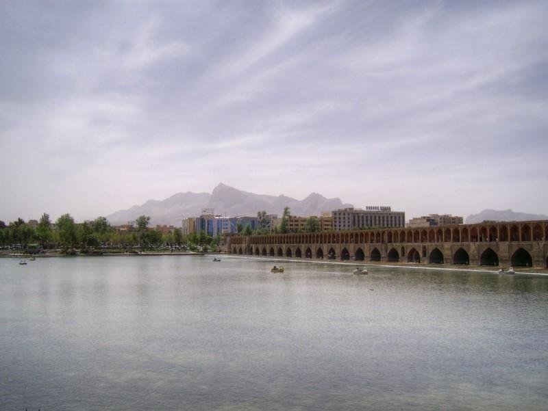 33 Pol, Sio-se-pol, Bridge, Zayande River, Esfahan