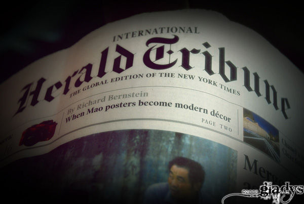 newspaper? MAO?