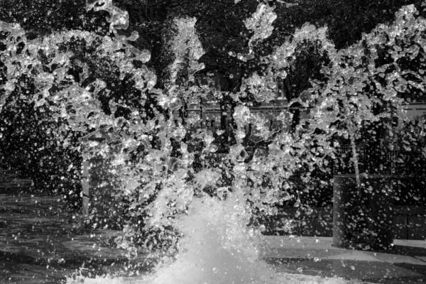 crashing water