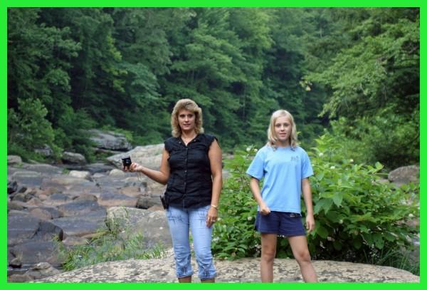 hiking the creek bottom