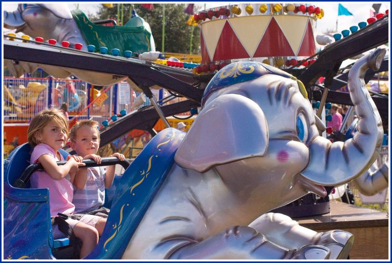 The ever important Dumbo ride