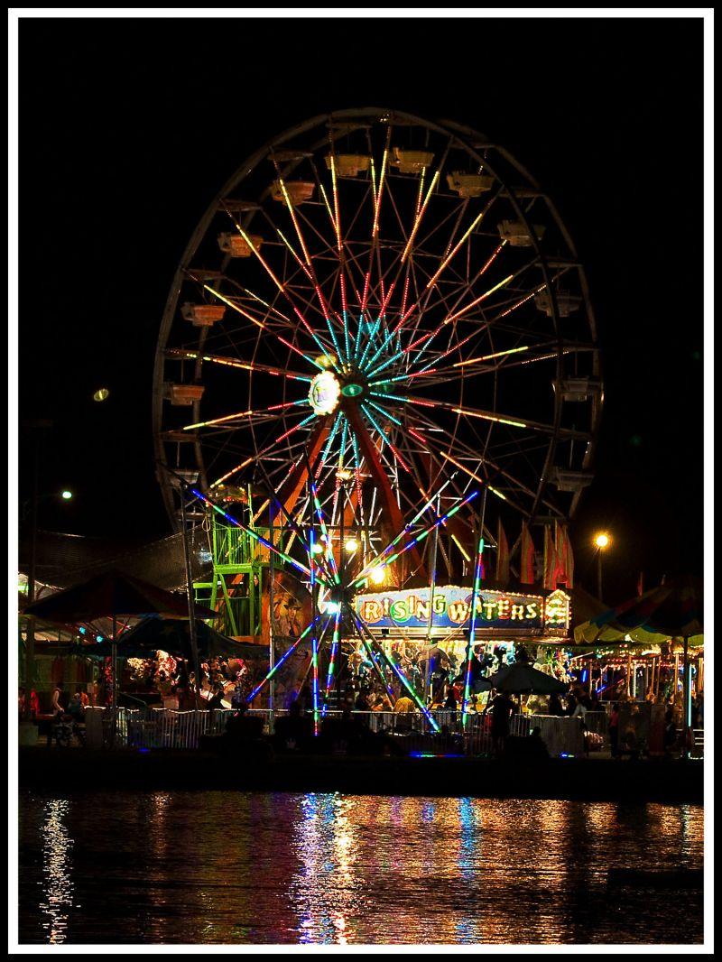 An evening at the fair