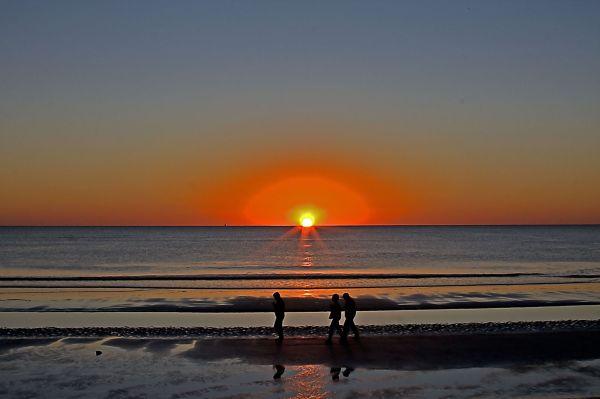 the early sun