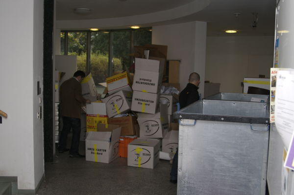 moving out …