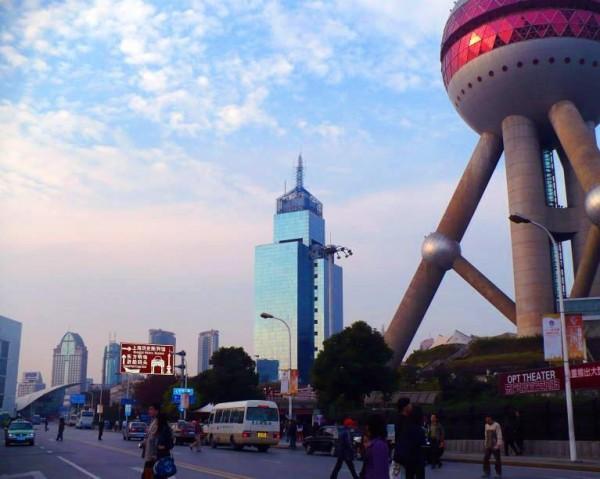 Retrato de la metropoli de Shanghai.