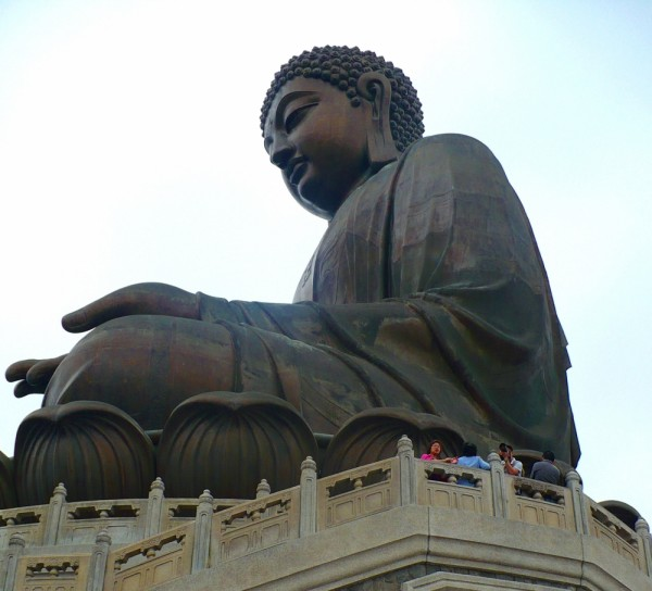 Buda Gigante en la isla oeste de Hong Kong.