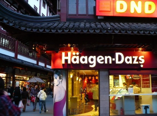 Heladeria en la China Town