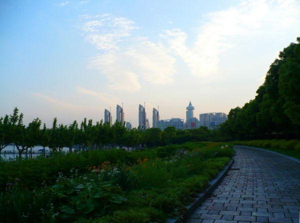 Century Park, Shanghai, China.