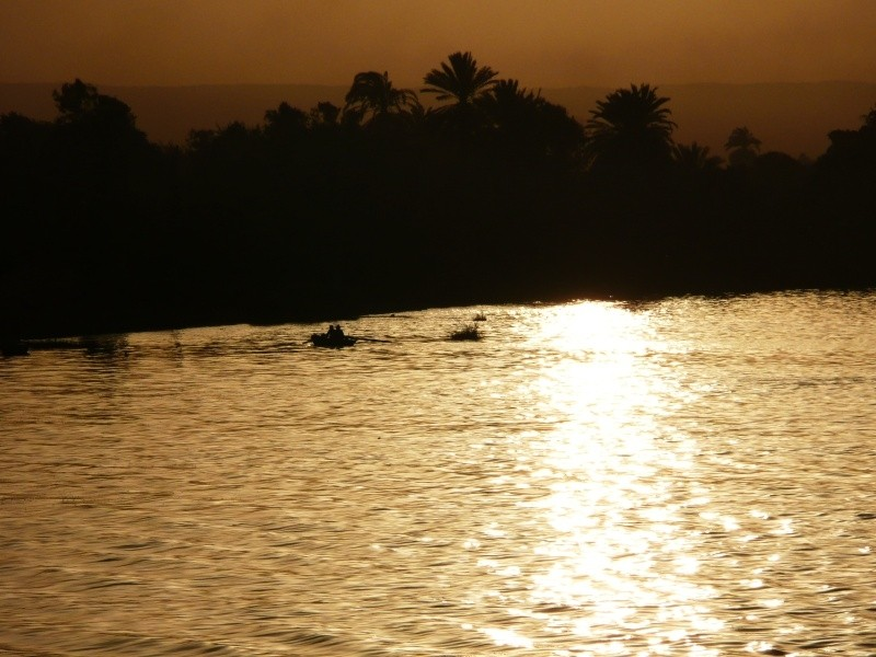 Rowboat On The Nile, Egypt
