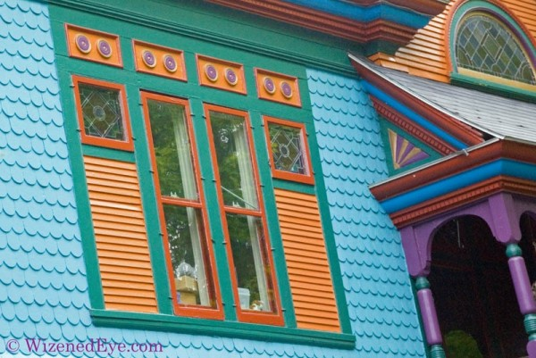 painted lady victorian house
