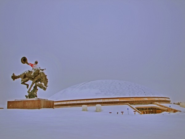 Steamboat at Christmas