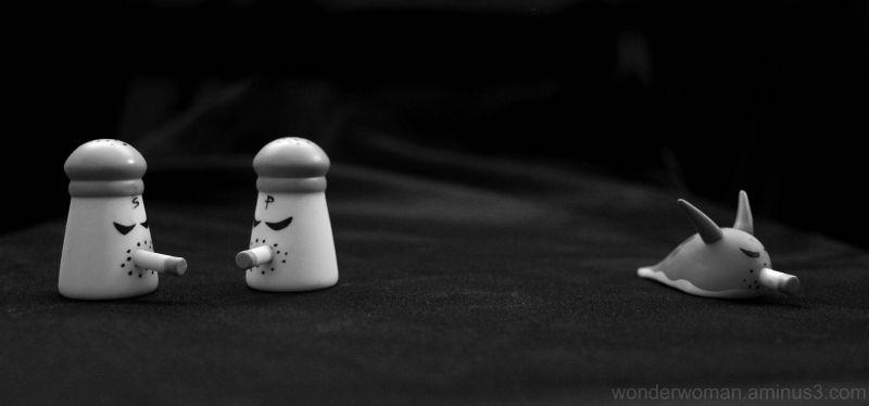 Smoking Salt and Pepper