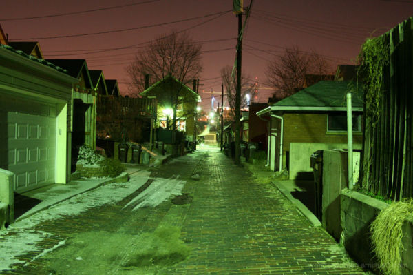 Newport Alley