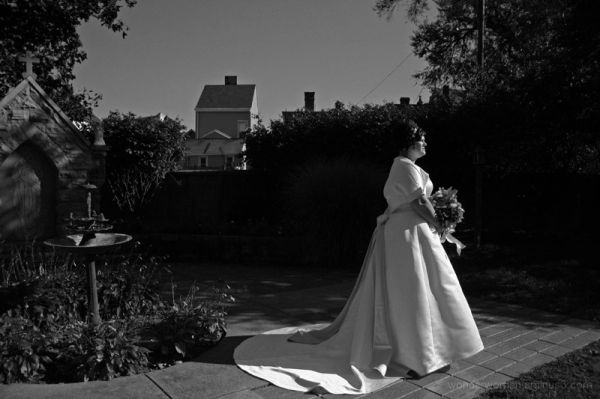 Bride in the Sun