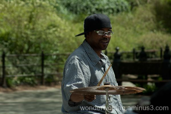 Drumming in Central Park