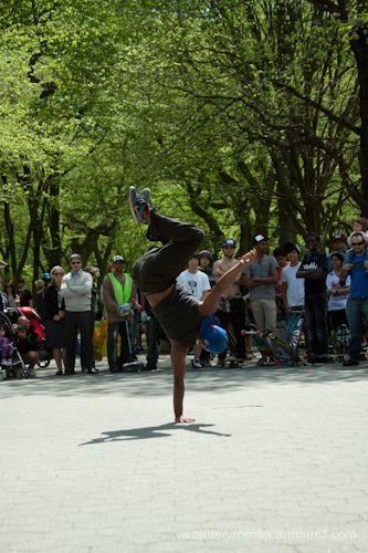 Breakin' in Central Park