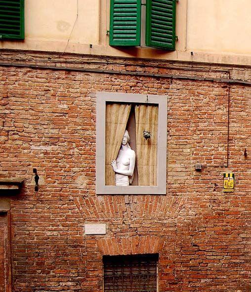 Què mira la noia de la finestra?
