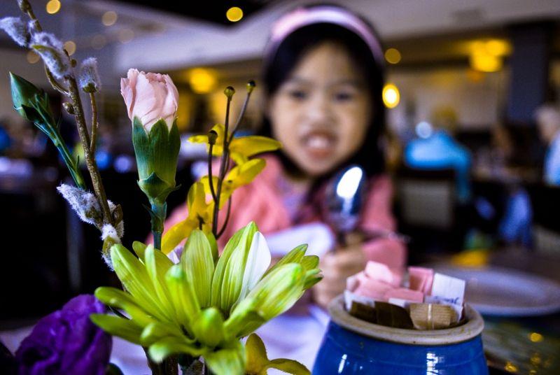 Dining at River Room Restaurant