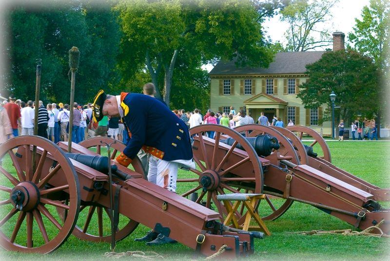Reenactment at Colonial Williansburg