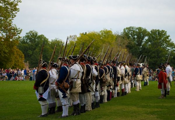 Reenactment at Colonial Williansburg