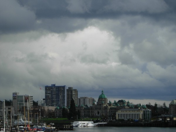 BC Legislative Assembly Building and Inner Harbour