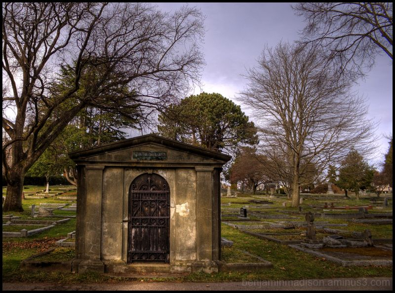 Houston Crypt, Ross Bay Cemetery, Victoria, Canada