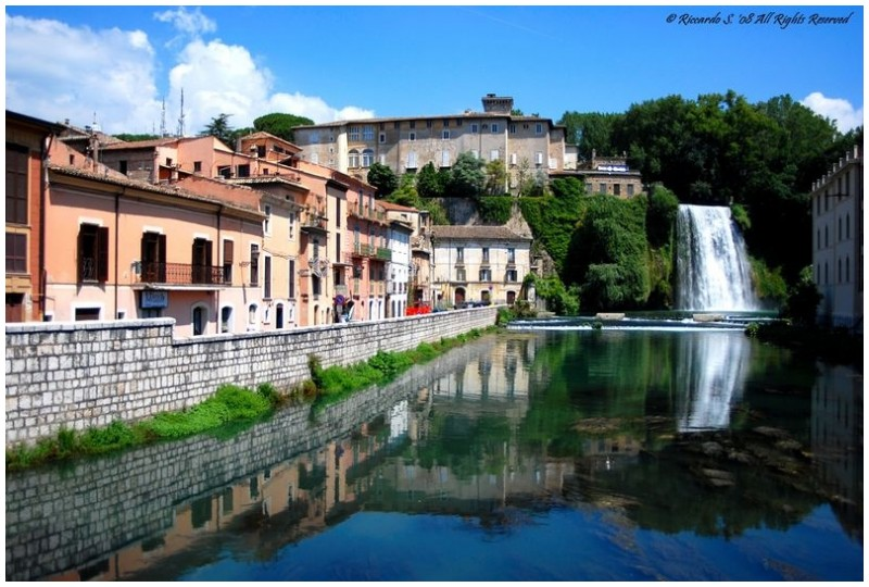 Isola Liri - Italy - (...a postcard from my town!)