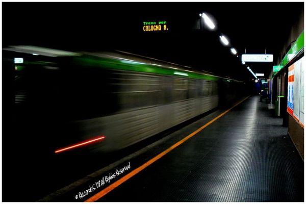 """Treno per """"Cologno N."""""""