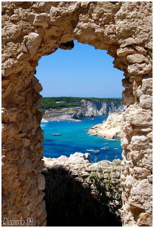 Vista sull'adriatico