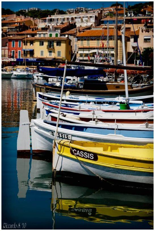 Les bateaux de Cassis